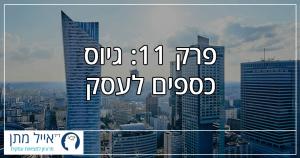 פרק 11 - גיוס כספים לעסק